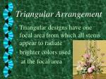 triangular arrangement5