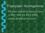 triangular arrangement7
