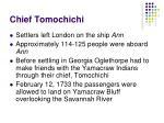 chief tomochichi