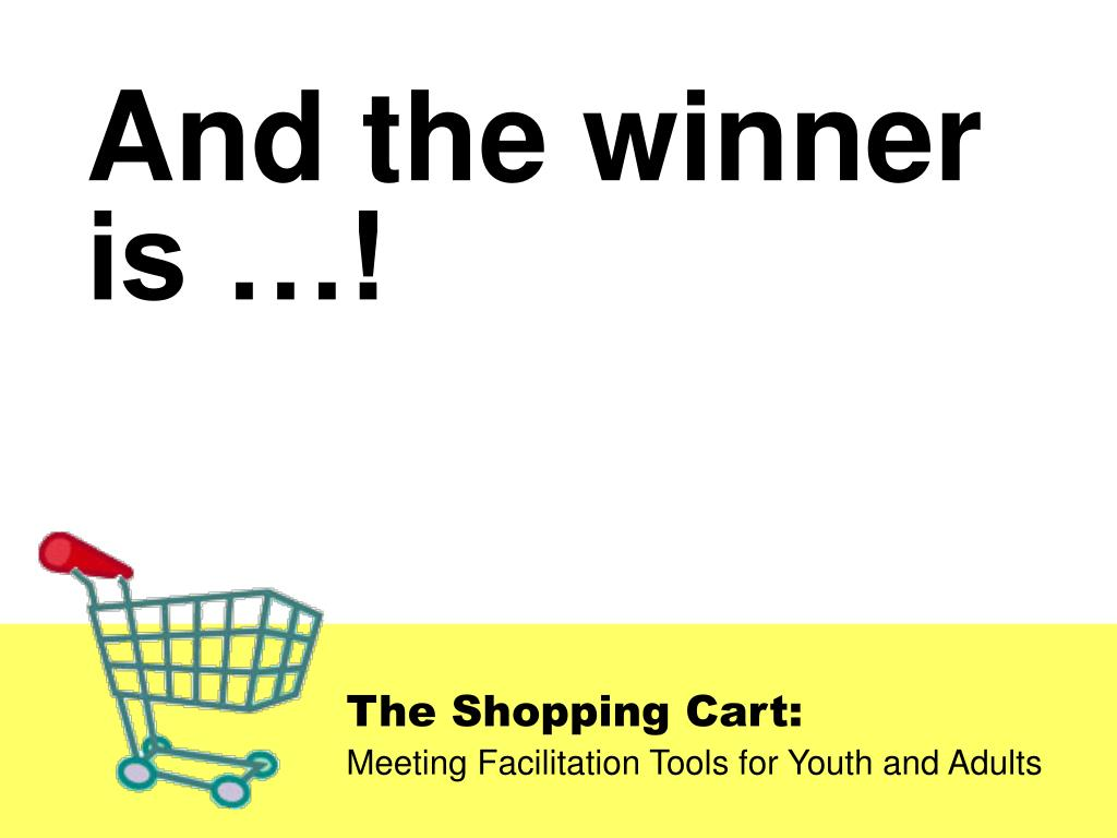 And the winner is …!