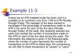 example 11 3