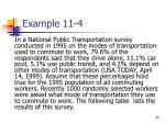 example 11 4