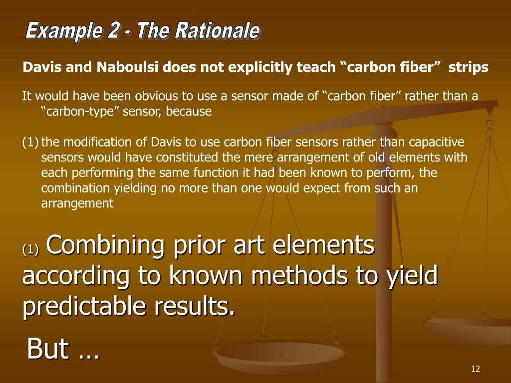 Example 2 - The Rationale
