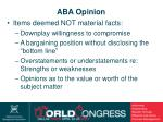 aba opinion31