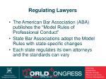 regulating lawyers
