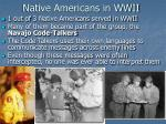 native americans in wwii