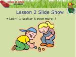 lesson 2 slide show