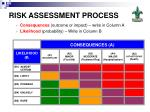 risk assessment process20