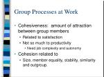 group processes at work12