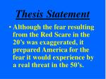 thesis statement15