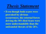 thesis statement16