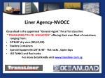 liner agency nvocc
