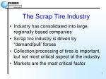 the scrap tire industry7