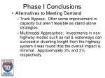 phase i conclusions17