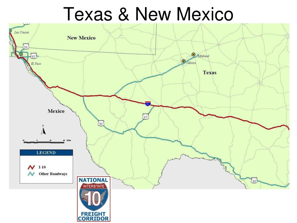 Texas & New Mexico