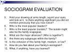 sociogram evaluation9