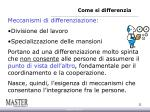 come si differenzia