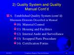 2 quality system and quality manual cont d31