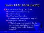 review of ac 00 56 cont d148