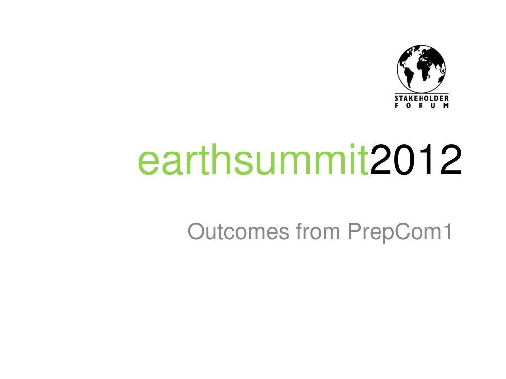 earthsummit 2012 l.