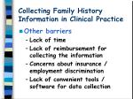 collecting family history information in clinical practice13