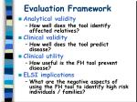 evaluation framework24