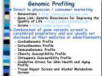 genomic profiling30