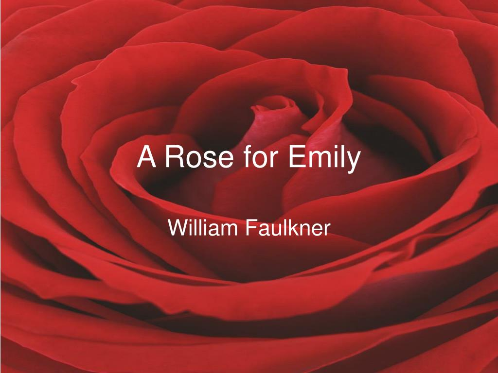 a rose for emily l.
