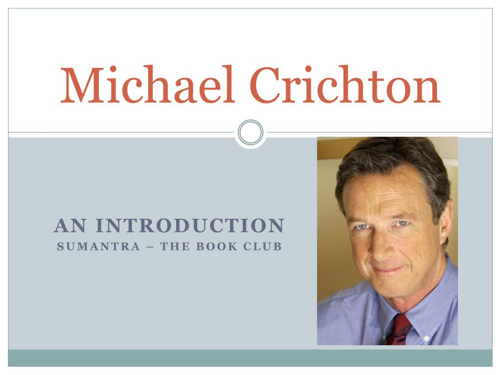 michael crichton l.