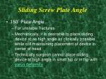 sliding screw plate angle12