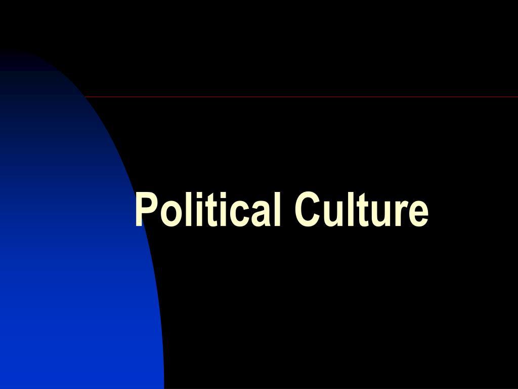 political culture l.