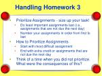 handling homework 3