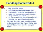 handling homework 4