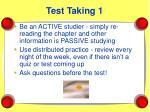 test taking 1