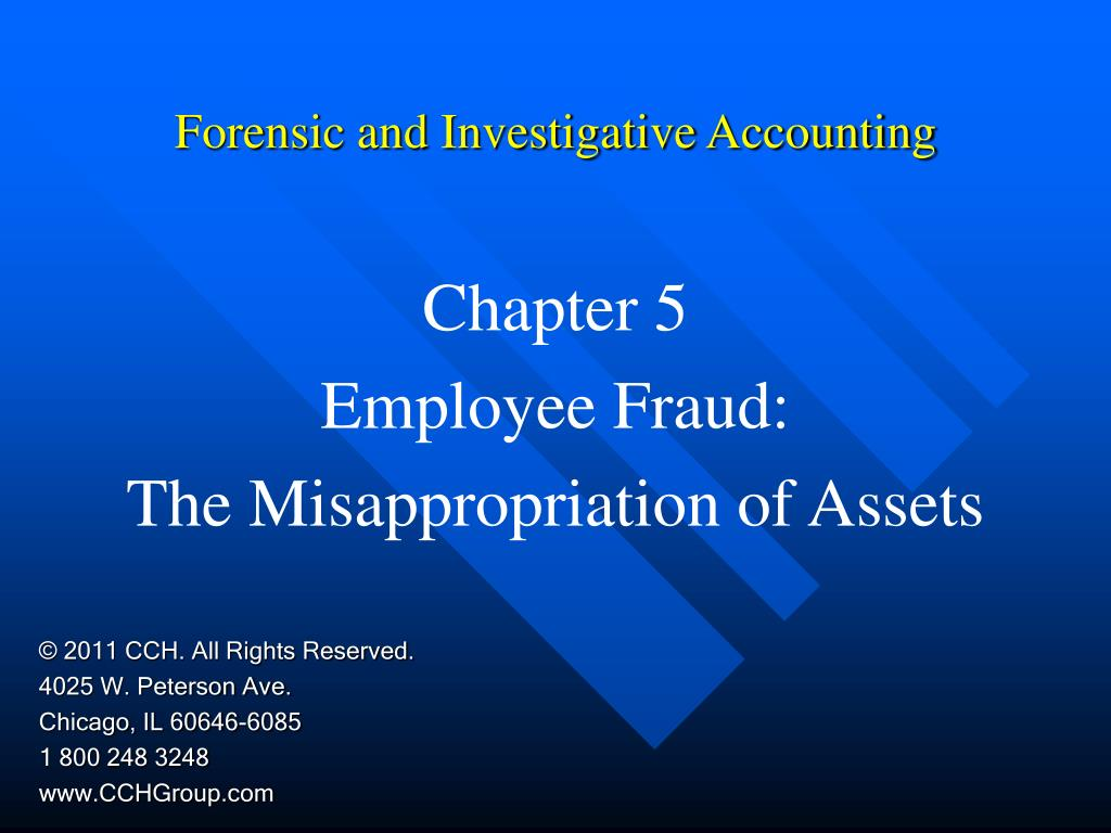 forensic and investigative accounting l.