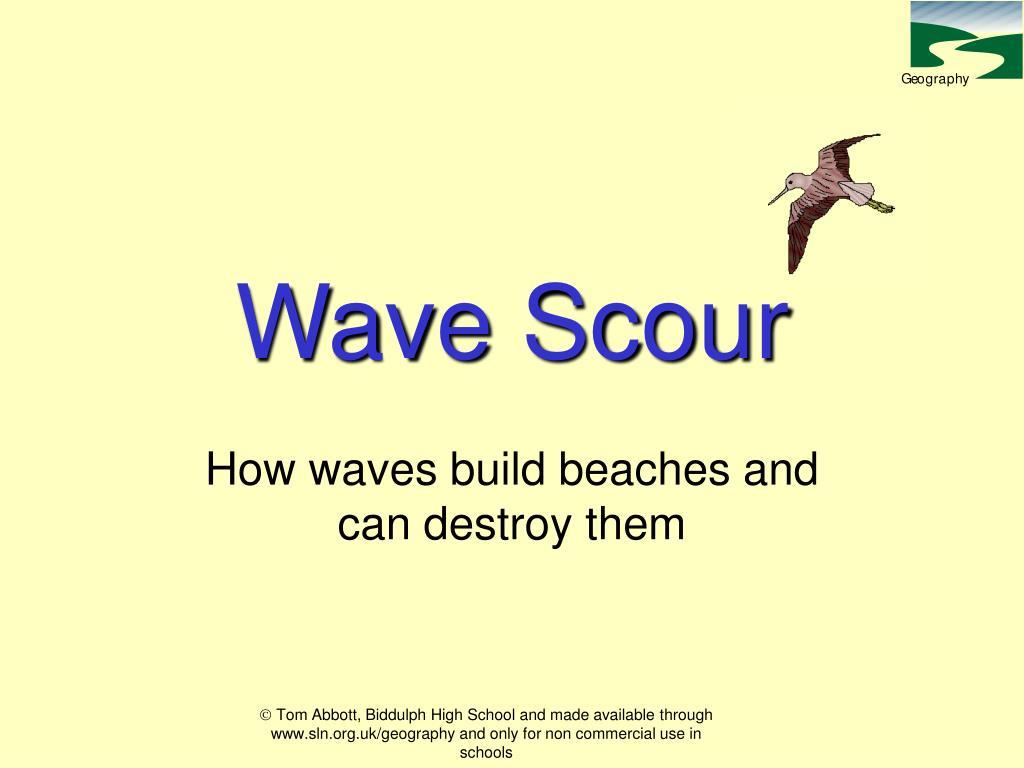 wave scour l.