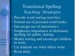 transitional spelling teaching strategies31