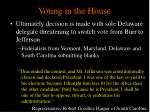 voting in the house11