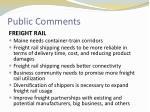 public comments11