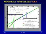 near wall turbulence idea
