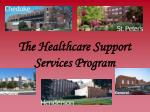 the healthcare support services program