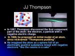 jj thompson