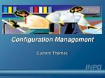 configuration management22