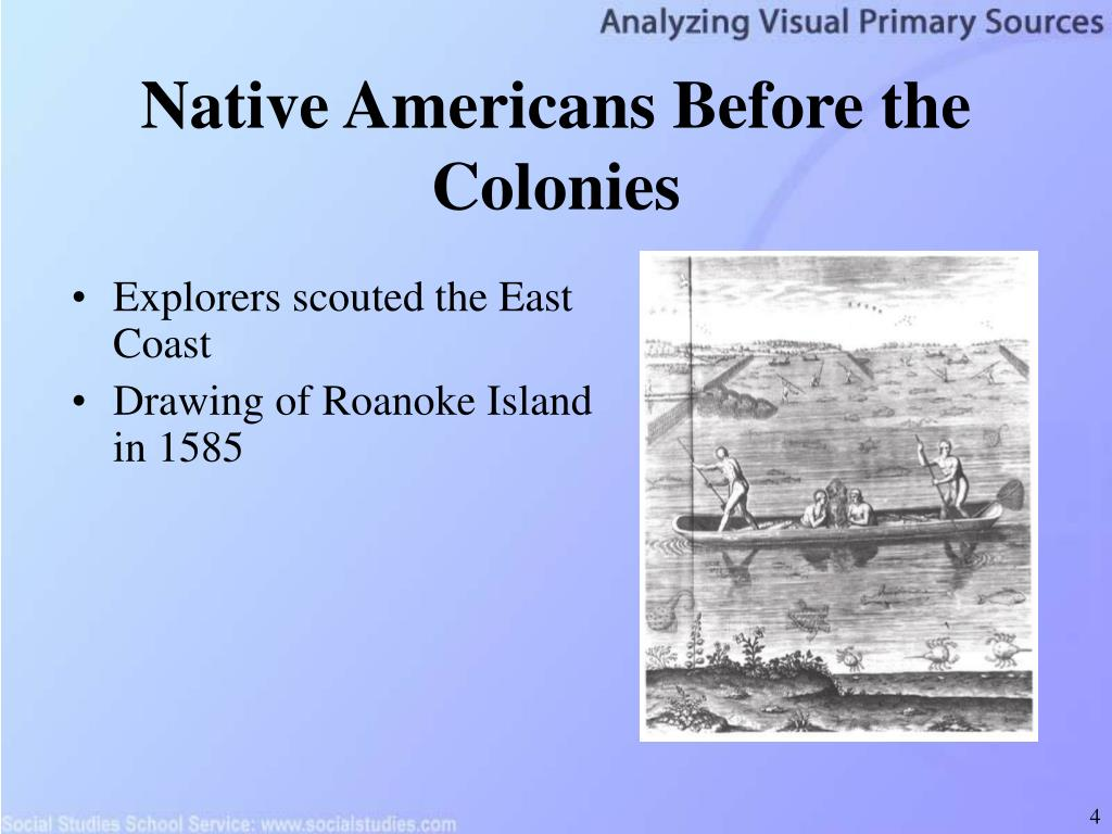 Native Americans Before the Colonies