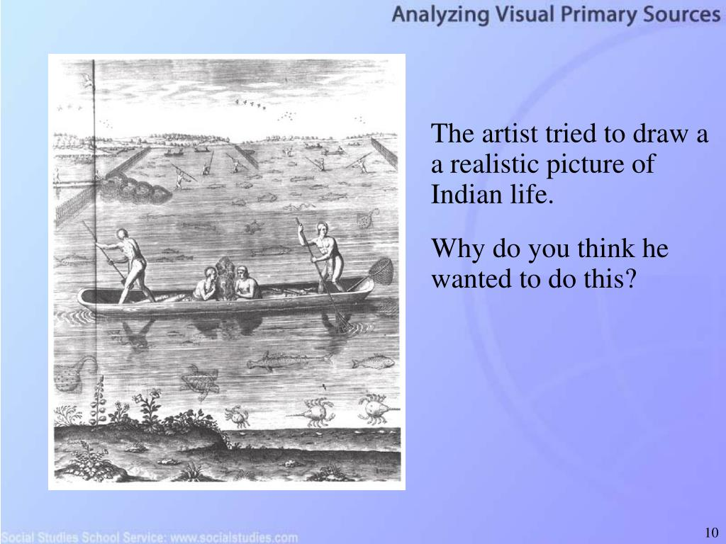 The artist tried to draw a a realistic picture of Indian life.