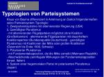 typologien von parteisystemen39