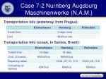 case 7 2 nurnberg augsburg maschinenwerke n a m36