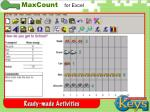 maxcount activities