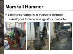 marshall hammer