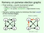 kemeny on pairwise election graphs